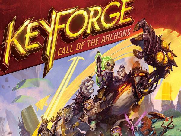 Bild zu Alle Brettspiele-Spiel KeyForge: Ruf der Archonten