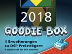Vorschaubild zu Spiel Deutscher Spielepreis 2018 Goodie-Box