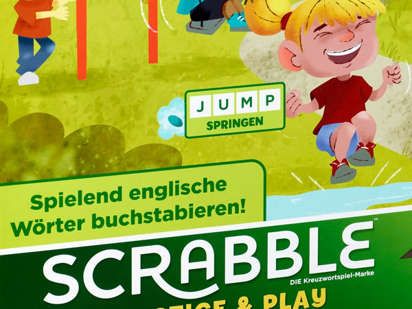 Bild zu Alle Brettspiele-Spiel Scrabble Practice und Play