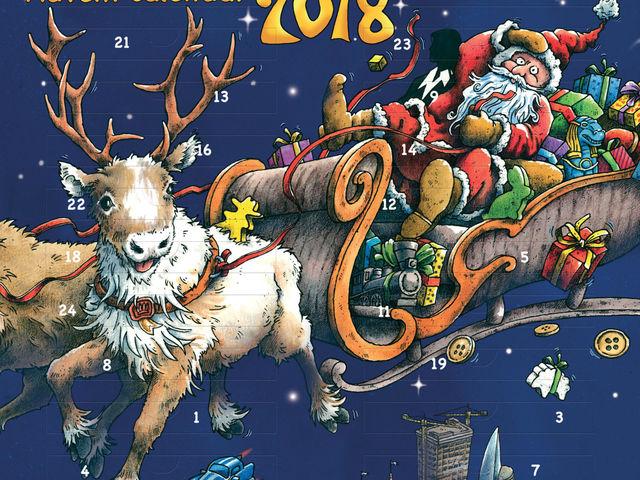 Brettspiel Adventskalender 2018 Bild 1