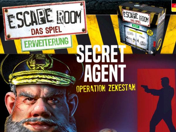 Bild zu Alle Brettspiele-Spiel Escape Room: Das Spiel - Secret Agent