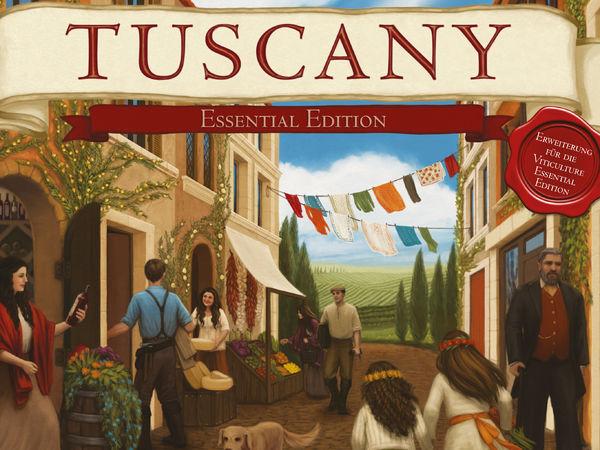 Bild zu Alle Brettspiele-Spiel Tuscany: Essential Edition