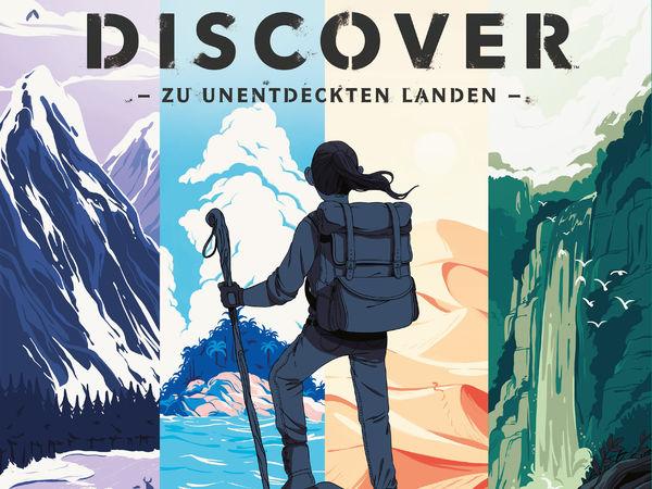 Bild zu Alle Brettspiele-Spiel Discover: Zu unentdeckten Landen