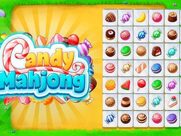 Bild zu Mädchen-Spiel Candy Mahjong