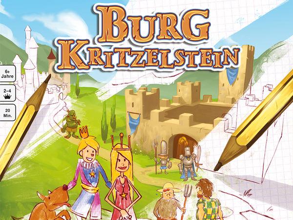 Bild zu Alle Brettspiele-Spiel Burg Kritzelstein