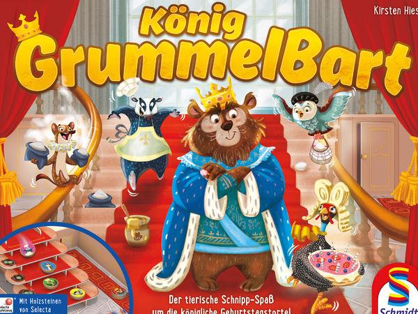 Bild zu Alle Brettspiele-Spiel König Grummelbart