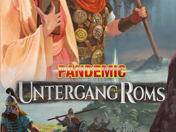 Bild zu Alle Brettspiele-Spiel Pandemic: Untergang Roms
