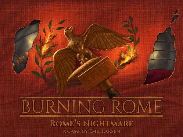 Bild zu Alle Brettspiele-Spiel Burning Rome