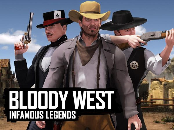 Bild zu Top-Spiel Bloody West - Infamous Legends