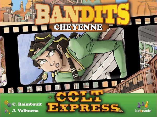 Bild zu Alle Brettspiele-Spiel Colt Express: Bandits – Cheyenne