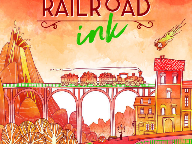 Railroad Ink: Knallrot Bild 1