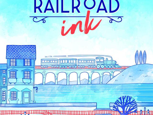 Railroad Ink: Tiefblau Bild 1