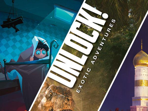 Bild zu Alle Brettspiele-Spiel Unlock! Exotic Adventures