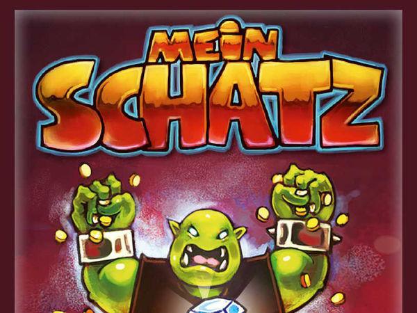 Bild zu Alle Brettspiele-Spiel Mein Schatz: Neuauflage