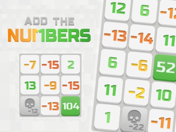 Bild zu Denken-Spiel Add the Numbers