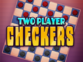 Neu-Spiel Two Player Checkers spielen
