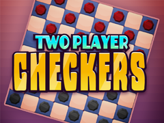 Two Player Checkers spielen
