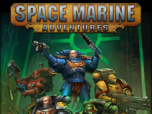 Bild zu Alle Brettspiele-Spiel Space Marine Adventures: Im Labyrinth Der Necrons