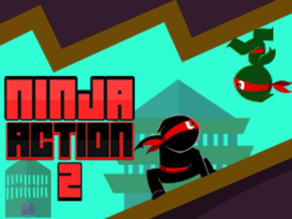 Bild zu Action-Spiel Ninja Action 2