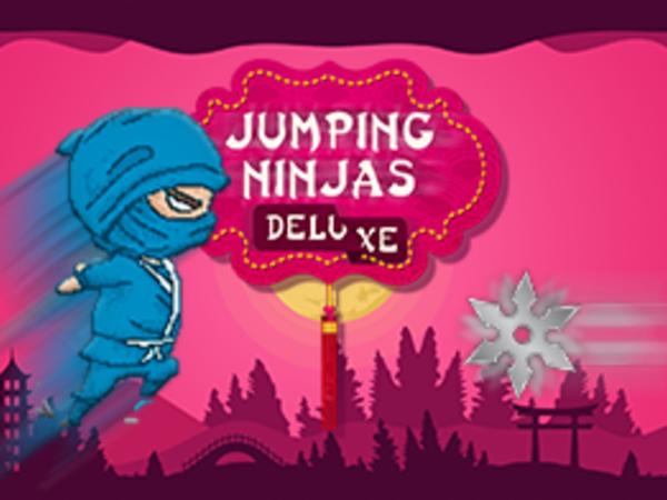 Bild zu Neu-Spiel Jumping Ninjas Deluxe