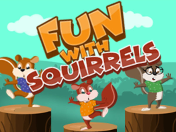 Bild zu HTML5-Spiel Fun with Squirrels