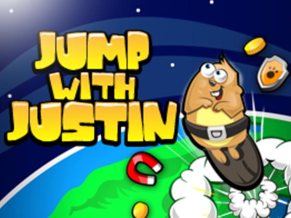 Bild zu Geschick-Spiel Jump with Justin