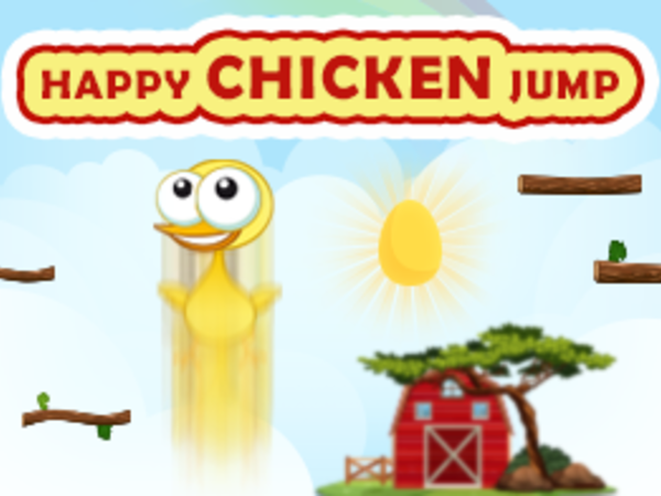 Bild zu Geschick-Spiel Happy Chicken Jump