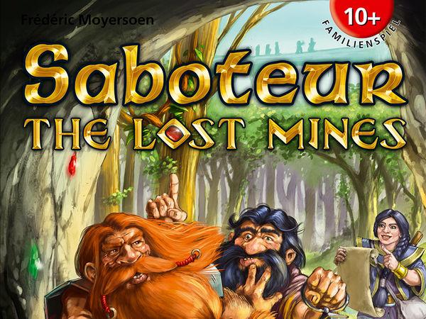 Bild zu Alle Brettspiele-Spiel Saboteur: The Lost Mines