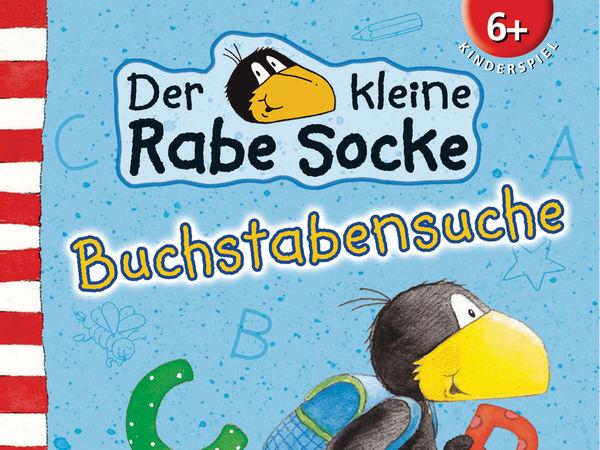 Bild zu Alle Brettspiele-Spiel Der kleine Rabe Socke: Buchstabensuche