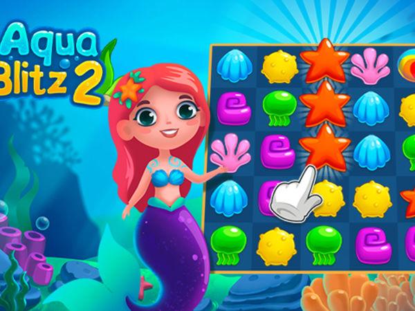 Bild zu Klassiker-Spiel Aqua Blitz 2
