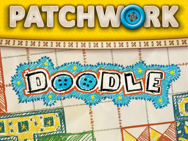Bild zu Alle Brettspiele-Spiel Patchwork Doodle