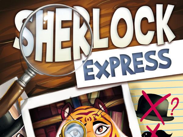 Bild zu Alle Brettspiele-Spiel Sherlock Express