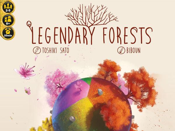 Bild zu Alle Brettspiele-Spiel Legendary Forests