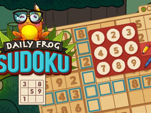 Bild zu Klassiker-Spiel Daily Frog Sudoku