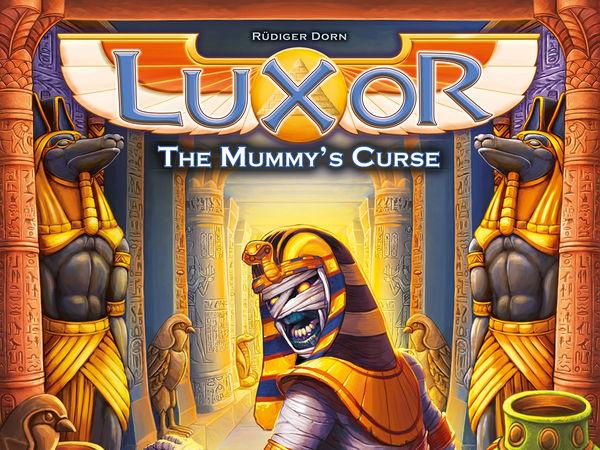 Bild zu Alle Brettspiele-Spiel Luxor: Der Fluch der Mumie