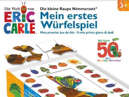 Die kleine Raupe Nimmersatt: Mein erstes Würfelspiel