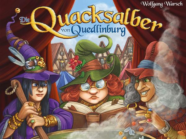 Bild zu Alle Brettspiele-Spiel Die Quacksalber von Quedlinburg: Die Kräuterhexen