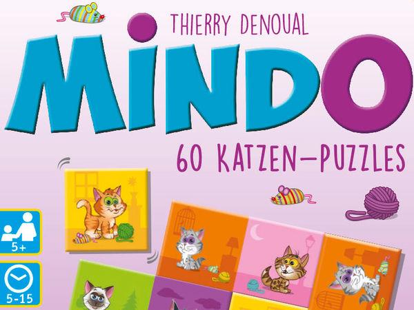 Bild zu Alle Brettspiele-Spiel Mindo: Katzen