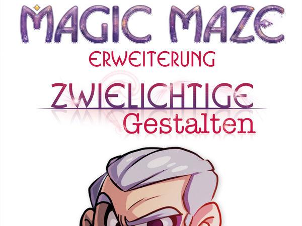 Bild zu Alle Brettspiele-Spiel Magic Maze - Erweiterung: Zwielichtige Gestalten