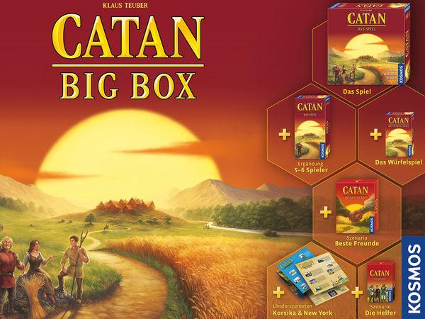 Bild zu Alle Brettspiele-Spiel Catan: Big Box 2019