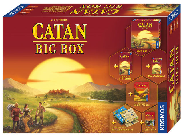 Catan: Big Box 2019 Bild 1