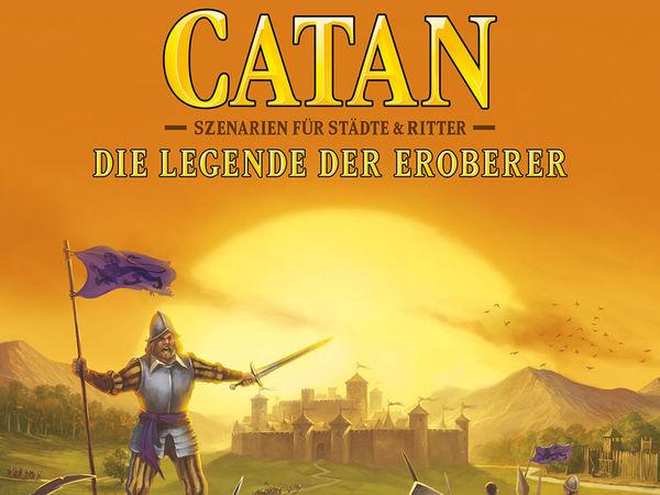 Bild zu Alle Brettspiele-Spiel Catan: Szenarien für Städte & Ritter - Die Legende der Eroberer