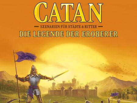 Catan: Szenarien für Städte & Ritter - Die Legende der Eroberer