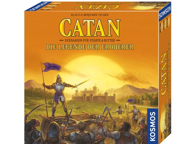 Catan: Szenarien für Städte & Ritter - Die Legende der Eroberer Bild 1