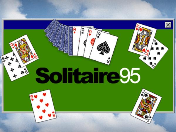 Bild zu Klassiker-Spiel Solitaire 95