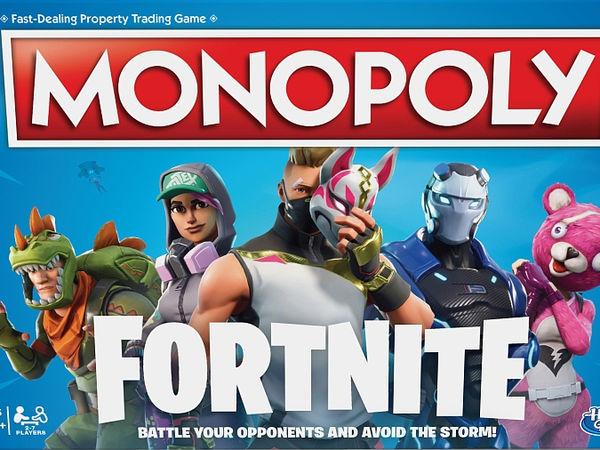 Bild zu Alle Brettspiele-Spiel Monopoly Fortnite