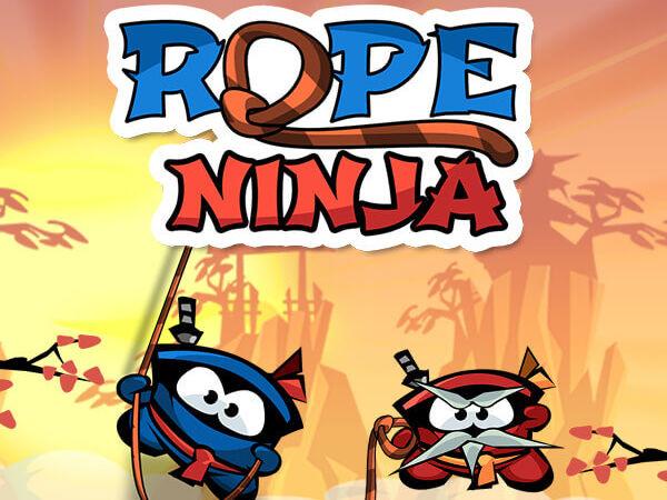 Bild zu Geschick-Spiel Rope Ninja