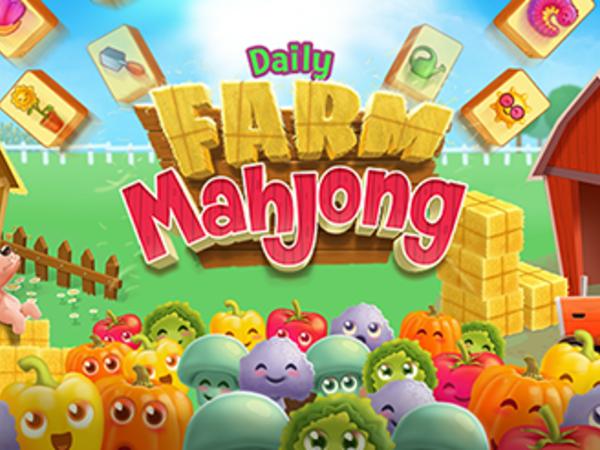Bild zu Denken-Spiel Daily Farm Mahjong