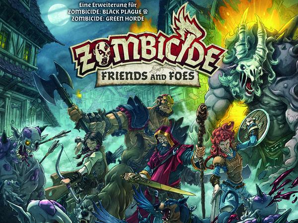 Bild zu Alle Brettspiele-Spiel Zombicide: Friends and Foes