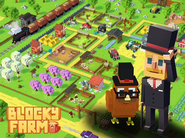 Bild zu Alle-Spiel Blocky Farm